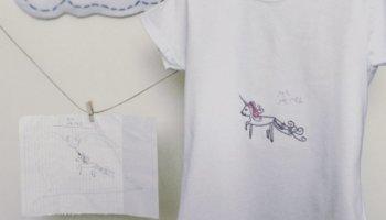 Camiseta original personalizada con dibujo