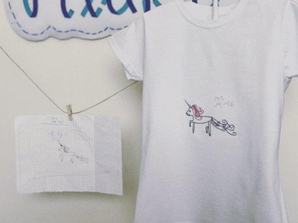 Camiseta personalizada con dibujo