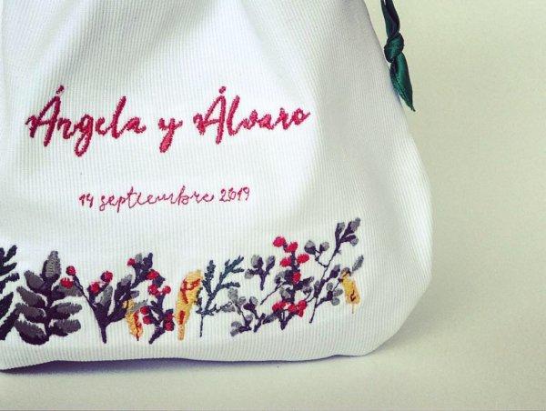 Bolsa para arras personalizada