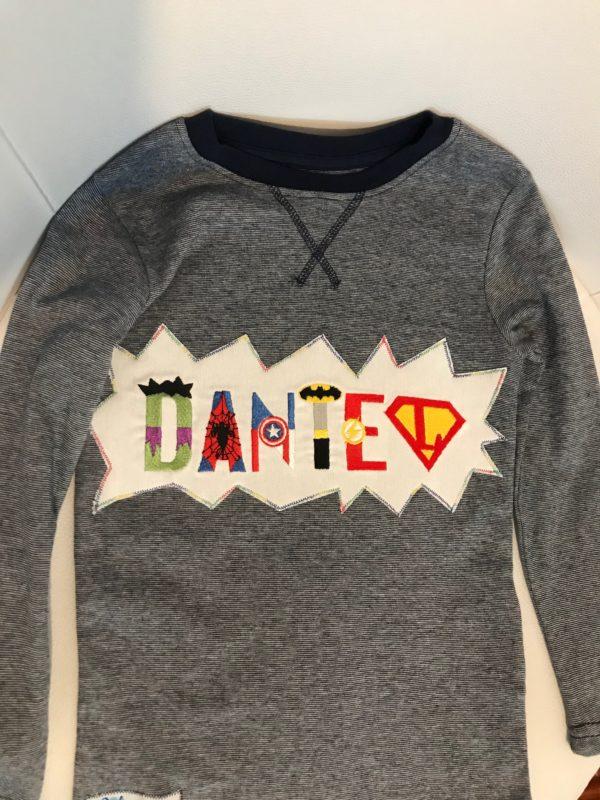 Camiseta de superhéroes