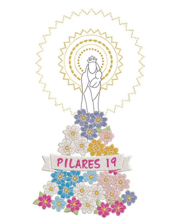 Camiseta de la Virgen del Pilar