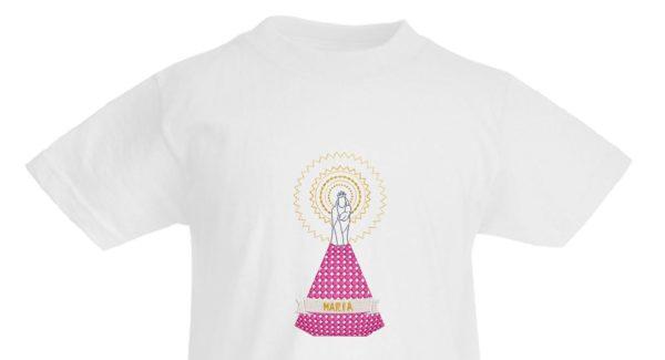 Camiseta de la Virgen del Pilar para niños