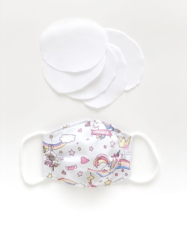 mascarillas reutilizables de tela