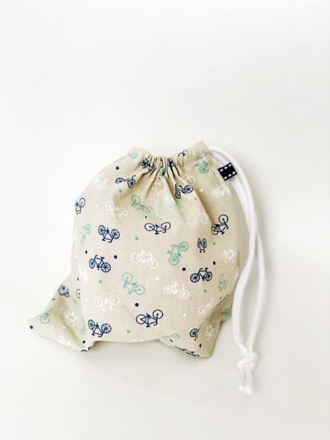 Bolsa de tela para mascarillas